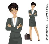 vector illustration. character... | Shutterstock .eps vector #1289565433