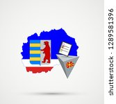 election or referendum in... | Shutterstock .eps vector #1289581396