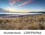 sunrise over new england bay at ... | Shutterstock . vector #1289596966