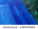 blue abstract grunge texture... | Shutterstock . vector #1289635606