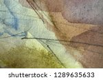 abstract watercolor painted... | Shutterstock . vector #1289635633