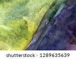 abstract watercolor painted... | Shutterstock . vector #1289635639
