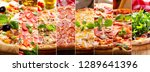 Food Collage Of Various Types...