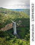 caracol waterfallin rio grande... | Shutterstock . vector #1289648263