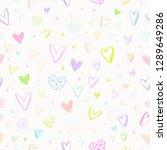 valentines day illustration.... | Shutterstock .eps vector #1289649286