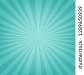 mint sunburst banner with... | Shutterstock .eps vector #1289650939