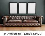 sofa background interior... | Shutterstock . vector #1289653420