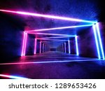 neon background concept. cyber... | Shutterstock . vector #1289653426