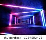 neon background concept. cyber... | Shutterstock . vector #1289653426