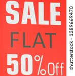 discount sale banner   Shutterstock . vector #1289669470