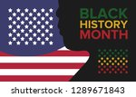 african american history or... | Shutterstock .eps vector #1289671843