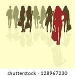 shopping   Shutterstock .eps vector #128967230
