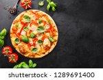 tasty appetizing vegetarian... | Shutterstock . vector #1289691400