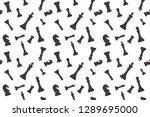 chess pattern  ready for... | Shutterstock .eps vector #1289695000