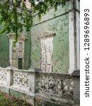 the old huses of scharloo ... | Shutterstock . vector #1289696893
