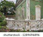 the old huses of scharloo ... | Shutterstock . vector #1289696896