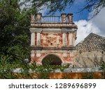 the old huses of scharloo ... | Shutterstock . vector #1289696899