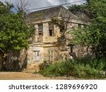 the old huses of scharloo ... | Shutterstock . vector #1289696920