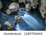 Long Exposure Of Water Flowing...