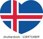 national flag of the republic... | Shutterstock .eps vector #1289714809