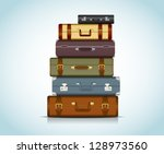 background,bag,baggage,black,box,briefcase,brown,case,design,destination,flag,holiday,illustration,isolated,journey