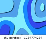 3d abstract background with... | Shutterstock . vector #1289774299