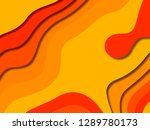 3d abstract background with... | Shutterstock . vector #1289780173
