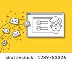 start up web illustration...   Shutterstock .eps vector #1289783326