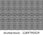 abstract seamless black and...   Shutterstock . vector #1289790529