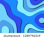 3d abstract background with... | Shutterstock . vector #1289796319