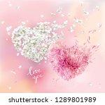 romantic vector image for... | Shutterstock .eps vector #1289801989