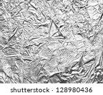 Close Up Of Aa Aluminum Foil O...