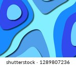 3d abstract background with... | Shutterstock . vector #1289807236