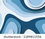3d abstract background with... | Shutterstock . vector #1289811556