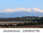 Snow Lies On Mount Hermon