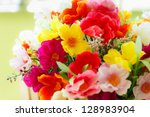 Many Colors Of Romantic Flower