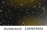 modern tinsel confetti isolated ...   Shutterstock .eps vector #1289859856