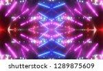 abstract pink creative lights... | Shutterstock . vector #1289875609