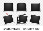 pack of square realistic... | Shutterstock .eps vector #1289895439