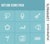 sound icon set and backward...