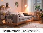 stylish scandinavian interior... | Shutterstock . vector #1289908873