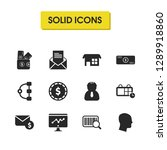 work icons set with foreman ...