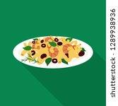 vector illustration of pasta... | Shutterstock .eps vector #1289938936