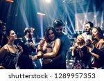 Couple Dancing In The Nightclub