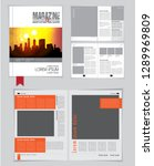 graphics brochures design... | Shutterstock .eps vector #1289969809