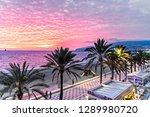 almeria  spain. circa january... | Shutterstock . vector #1289980720