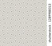 vector seamless pattern. modern ... | Shutterstock .eps vector #1289988313