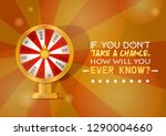 fortune wheel vector try to win ... | Shutterstock .eps vector #1290004660