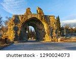 sunset view og the south gate... | Shutterstock . vector #1290024073