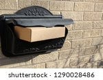parcels  boxes   delivery... | Shutterstock . vector #1290028486